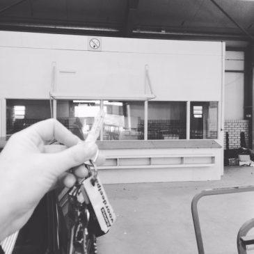 Sleutel van de werkplaats in Delft!
