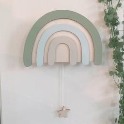 Muziekdoosje regenboog